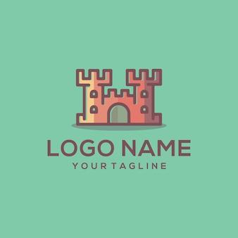 Vetor de logotipo de castel