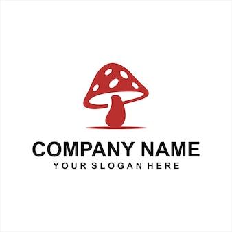 Vetor de logotipo de cogumelos