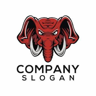 Vetor de logotipo de elefante