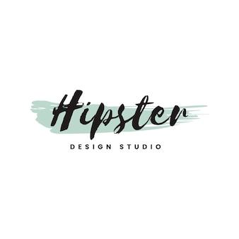 Vetor de logotipo de estúdio de design moderno