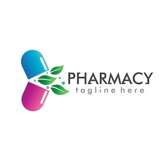 Vetor de logotipo de farmácia