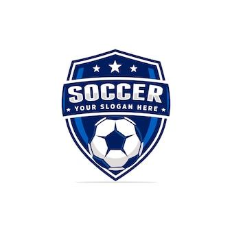 Vetor de logotipo de futebol