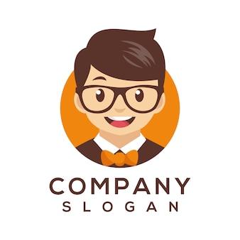 Vetor de logotipo de personagem