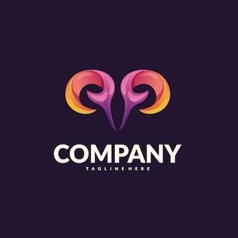 Vetor de logotipo de ram