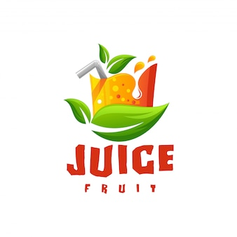 Vetor de logotipo de suco