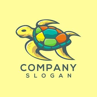 Vetor de logotipo de tartaruga