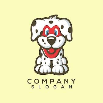 Vetor de logotipo do cão