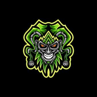 Vetor de logotipo do palhaço