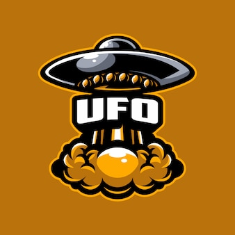 Vetor de logotipo do ufo