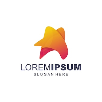 Vetor de logotipo estrela