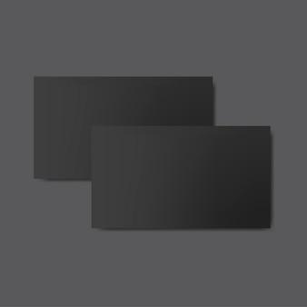 Vetor de maquete de design de cartão de visita