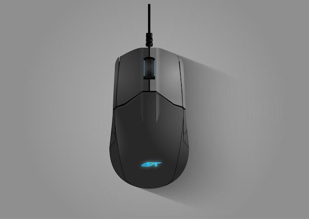 Vetor de mouse para jogos