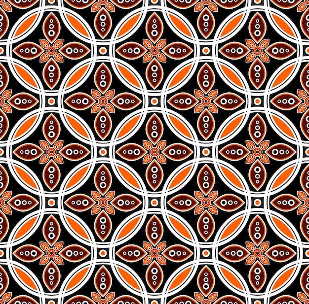 Vetor de padrão de batik
