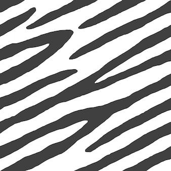 Vetor de padrão de impressão animal sem emenda