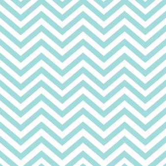Vetor de padrão em zigue-zague sem emenda turquesa