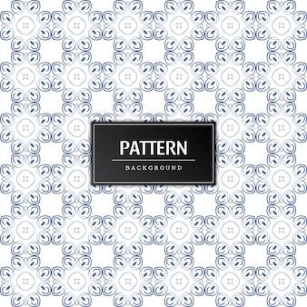 Vetor de padrão sem costura elegante moderno