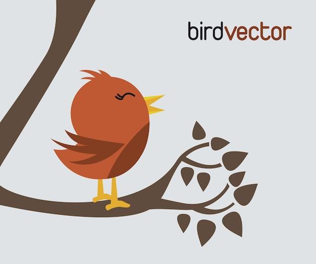 Vetor de pássaro