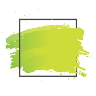 Vetor de pintura de pincel de arte. textura abstrata fundo design ilustração acrílica do cartaz do curso. projeto aquarela perfeito para manchete, logotipo e banner.