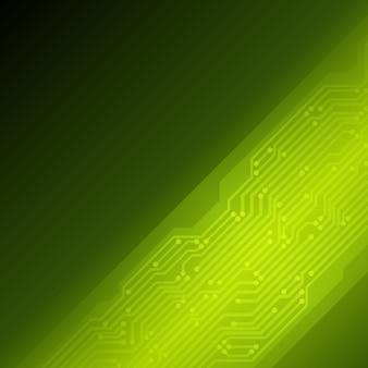 Vetor de placa de microcircuito