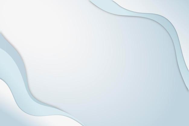 Vetor de plano de negócios em estilo abstrato azul