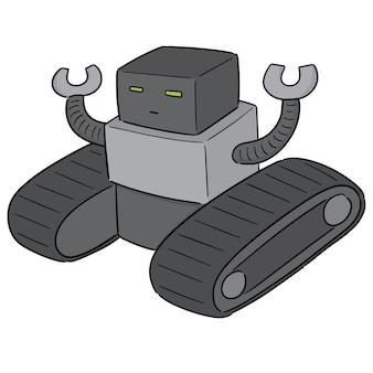 Vetor de robô