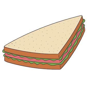 Vetor de sanduíche
