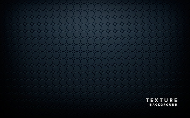 Vetor de textura metálica preta