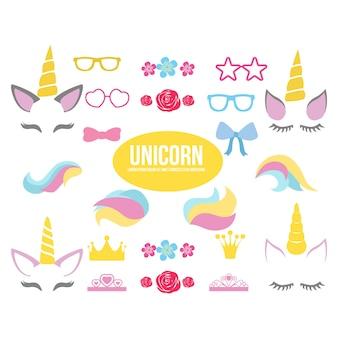 Vetor de unicons