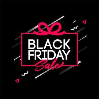 Vetor de venda sexta-feira negra