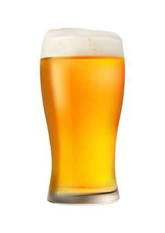 Vetor de vidro de cerveja