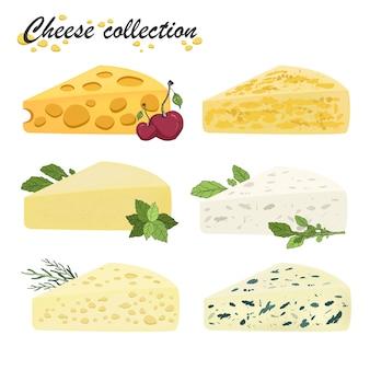 Vetor definido com queijo.