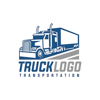 Vetor do logotipo do caminhão