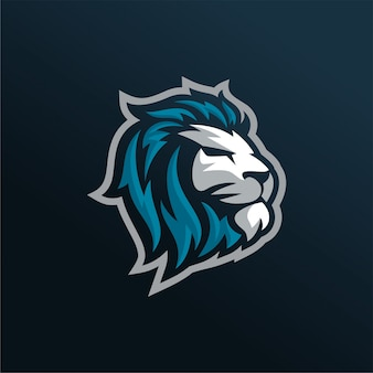 Vetor do logotipo do lion esports