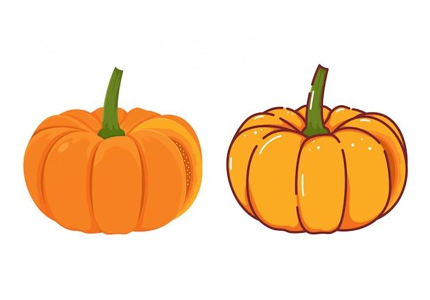 Vetor dos desenhos animados de pumpking