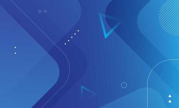 Vetor eps10 de fundo abstrato azul moderno design elegante