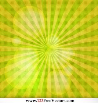 Vetor livre fundo do sunburst