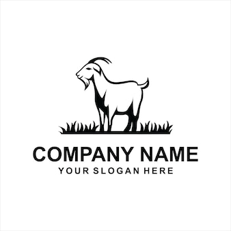Vetor logotipo de cabra