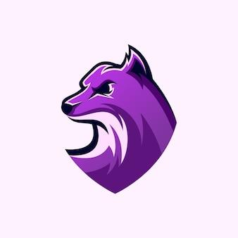 Vetor logotipo de raposa