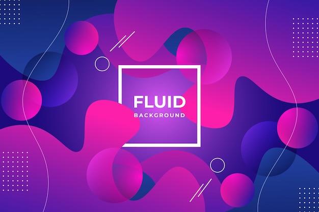 Vetor premium de fundo abstrato fluido