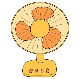 Vetorial, de, ventilador