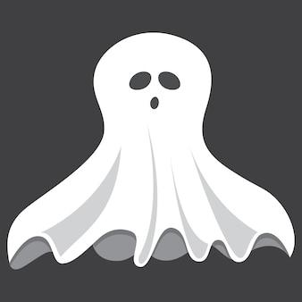 Vetorial, ilustração, de, fantasma
