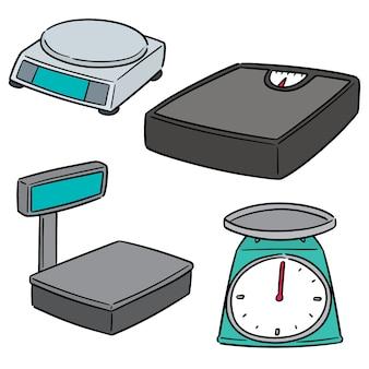 Vetorial, jogo, de, pesando, máquina