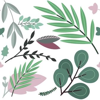 Vetorial, mão, desenhado, esboço, ilustração, de, abstratos, colorido, flor