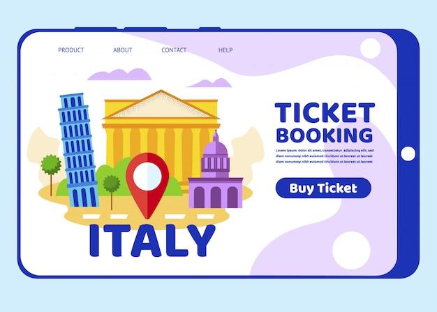 Viagem a itália sightseeings edifícios históricos