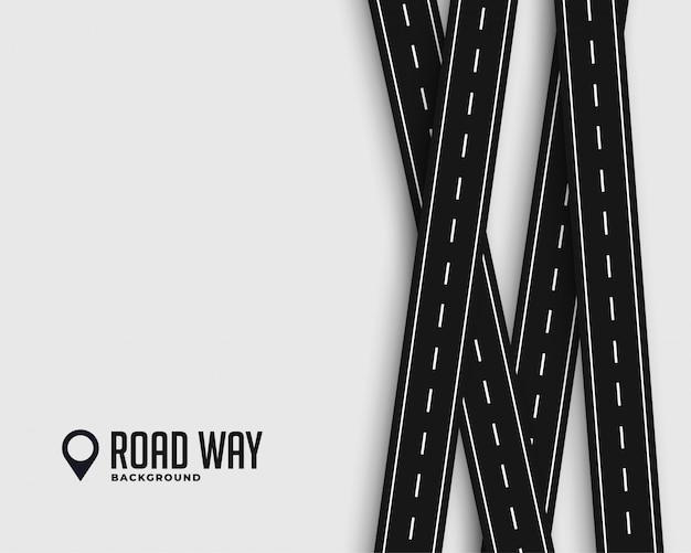 Viagem de estradas e fundo de viagens