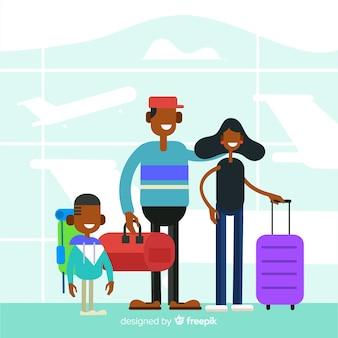 Viagem de família