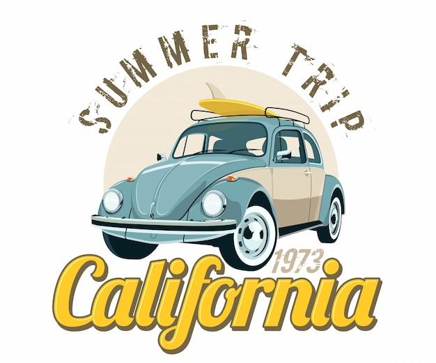 Viagem de verão na califórnia