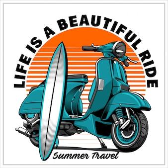 Viagem de verão