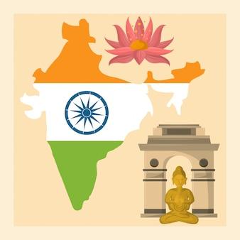 Viagem e cultura na índia