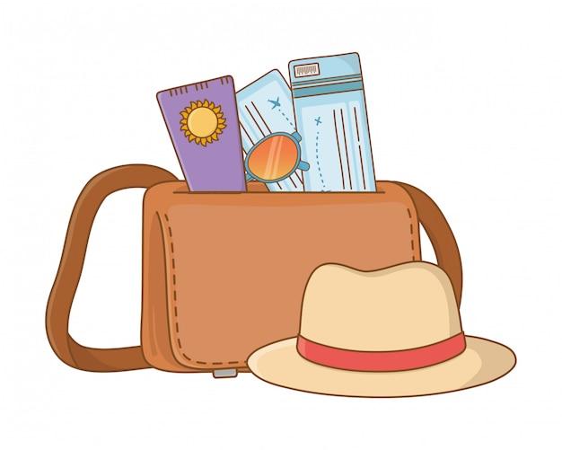 Viagem turística de verão